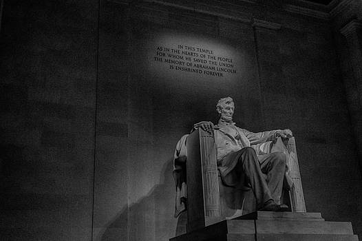 Lincoln Reflection by Dawn Morrow