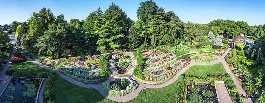 Lincoln's Sunken Gardens by Mark Dahmke