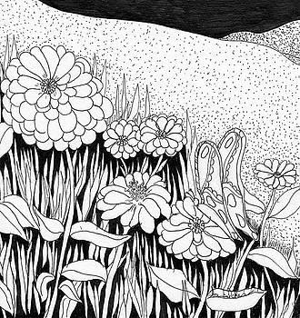 Linda's Garden by Lou Belcher