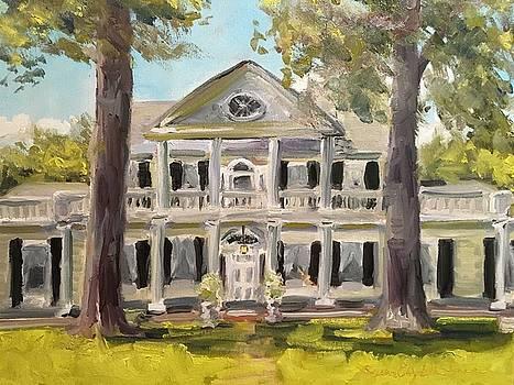 Linden Antebellum Bed and Breakfast Natchez MS by Susan E Jones