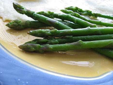 Lindie Bistro Asparagus Spears by Lindie Racz