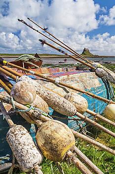 David Taylor - Lindisfarne harbour view