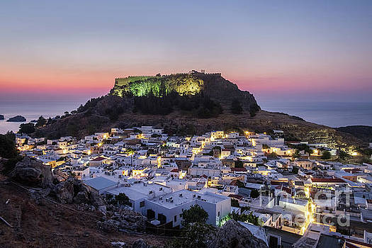 Lindos - Morning Glow by Martin Williams