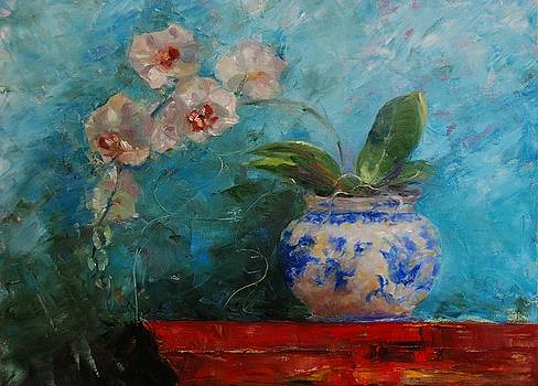 Lindstrom Vase Detail by Ann Bailey