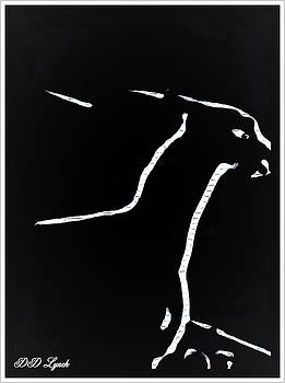 Line  Art Animal  by Debra Lynch