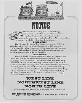 Chicago and North Western Historical Society - Line Name Changes for Chicago and North Western