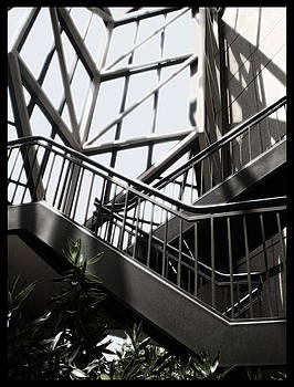 TNT Images - Lined Stairway - 200340
