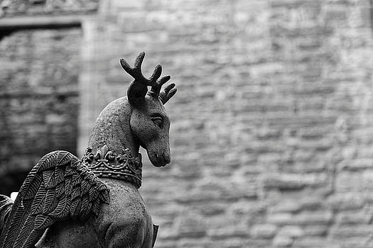 Linlithgow Winged Stag by Scott Hill