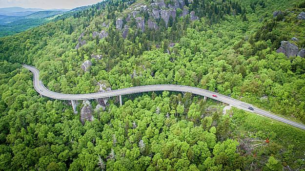 Linn Cove Viaduct II by Matt Spangard