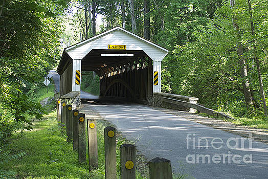 Linton Stephens Covered Bridge by Lori Amway