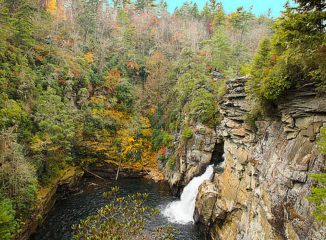 Linville Falls by Frank White