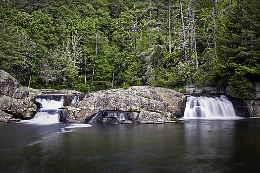 Linville Falls On Memorial Day by Ben Shields
