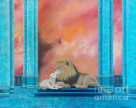 Lion and Lamb by Tracey Goodwin
