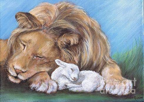 Lion and the Lamb by Janice Guinan