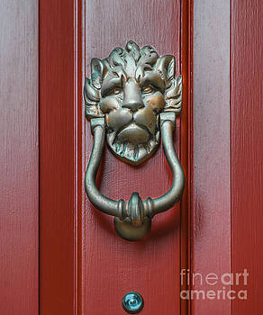 Dale Powell - Lion Door Knocker