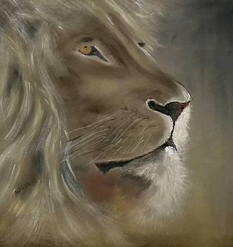 Lion by Edwin Alverio