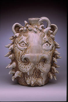 Stephen Hawks - Lion Face Jug
