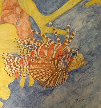 Lion Fish by Joan Mansson