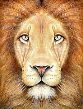 Greg Joens - Lion Head in Color