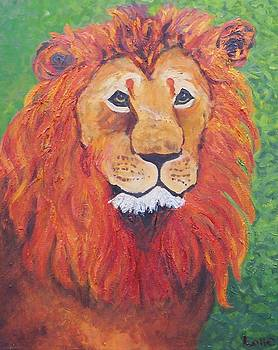 Lion Head by Lore Rossi