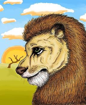 Lion by Noemi N