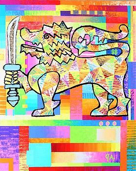 Lion Of Ceylon by Jeremy Aiyadurai