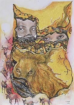 Lion power by Bernadett Bagyinka