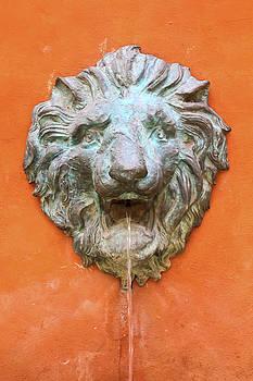 Lion Sculpture by Prasert Chiangsakul