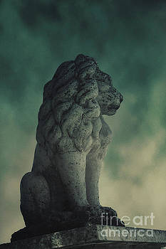 Lion statue by Mythja Photography