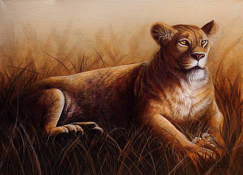 Lioness by Danielle Trudeau