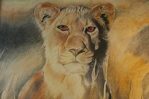 Lioness of Ambition by Bennie Parker