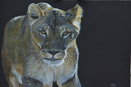Lioness of the Night by Vicky Path