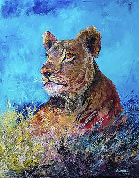 Lioness Pride by Anthony Mwangi