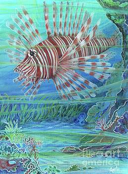 Lionfish Blues by Amelia at Ameliaworks