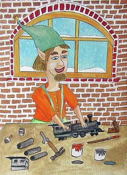 Lionle The Train Maker Elf by Gordon Wendling
