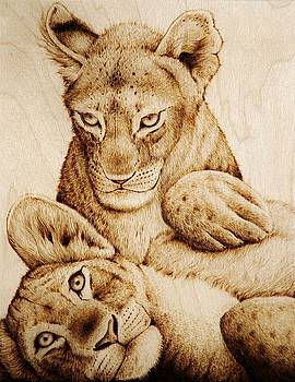 Lions and Tigers by Cara Jordan