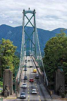 Lions Gate Bridge by Dennis Kowalewski