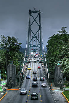 Lions Gate Bridge by Richard Hinds