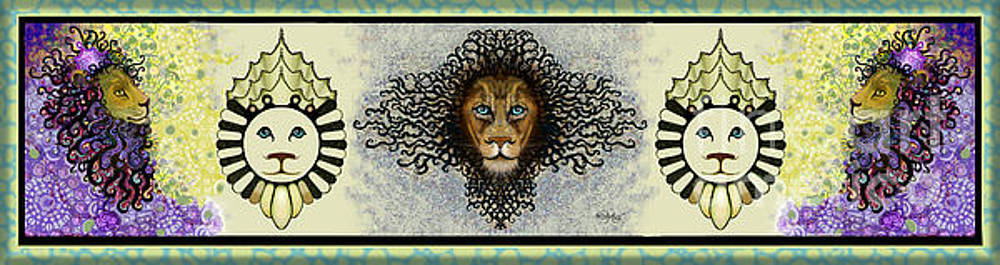Carol Jacobs - Lions in a Row II