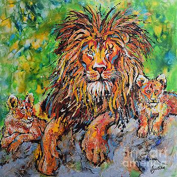 Lion's Pride by Jyotika Shroff