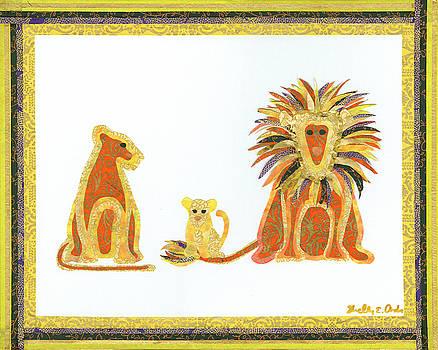 Paper Figments - Lion