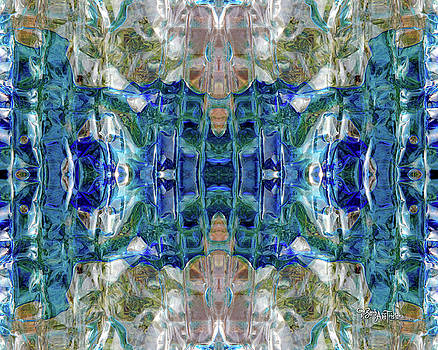 Liquid Abstract #0061_1 by Barbara Tristan