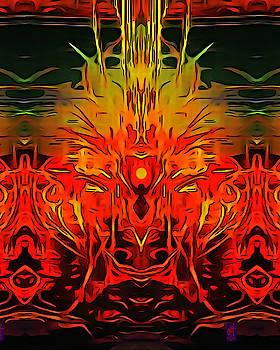 Liquid Fire by Inga Vereshchagina