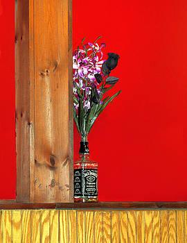 Nina Bradica - Liquor Bottle Vase-1