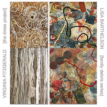 Lisa Barthelson and Virginia Fitzgerals by March show