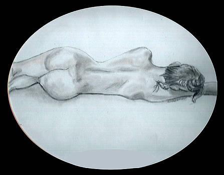 Lisa nude 2 by Olga Kaczmar