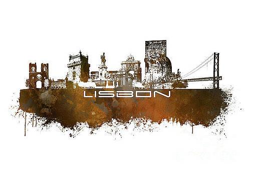Justyna Jaszke JBJart - Lisbon brown art