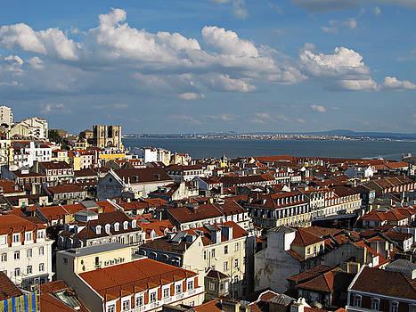 Lisbon City View by Kiril Stanchev