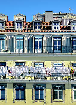 Lisbon Laundry by Marion McCristall