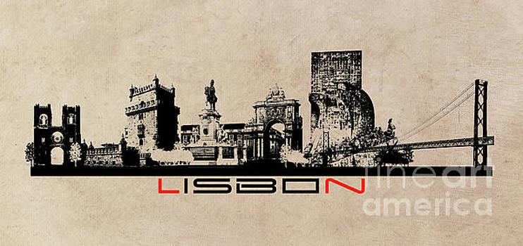 Justyna Jaszke JBJart - Lisbon skyline city